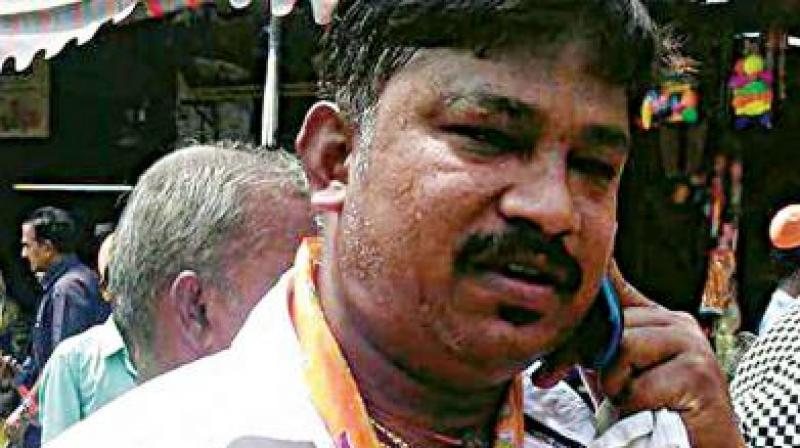 RSS leader Rudresh, who was killed by a fanatical Islamic group/. (Photo: File)