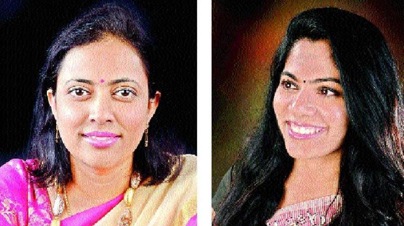 Renuka Velamati and Seliha Muvva