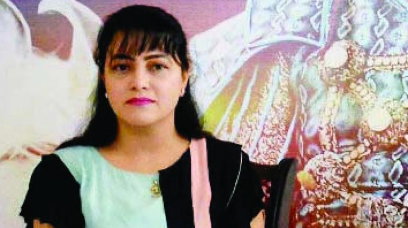Panchkula Police on Tuesday conducted raid at A-9 Greater Kailash, Delhi with arrest warrant for Honeypreet but she was not found in the house. (Photo: File)