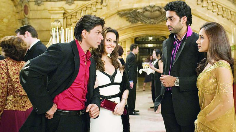 A still from Kabhi Alvida Na Kehna.