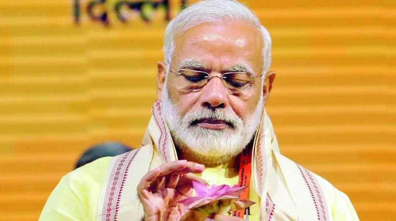 Prime Minister Narendra Modi on Monday set up an economic advisory council to look into issues of macroeconomic importance. Photo: Pritam Bandyopadhyay