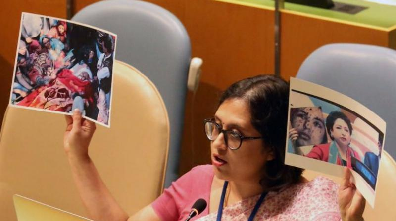 'Today, there is greater awareness about the centrality of meaningful participation of women in peace processes and incorporation of gender perspectives in UN's peace and security efforts,' Tripathi said. (Photo: File)