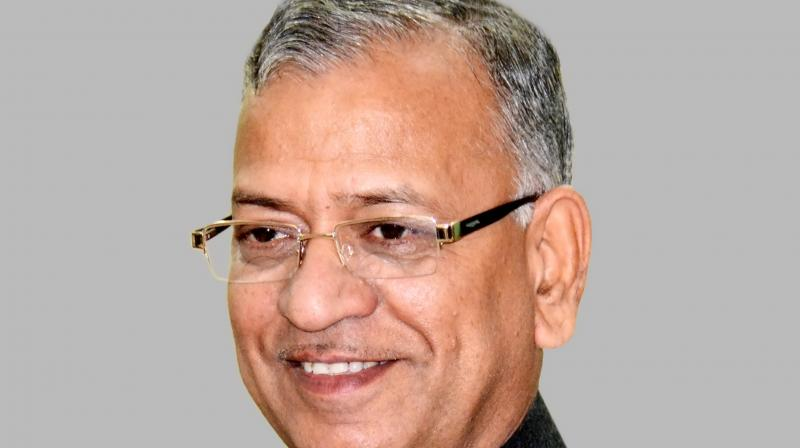 Vice Chancellor Girish Chandra Tripathi is at the centre of the controversy over handling of the recent violence in the BHU campus. (Photo: File)