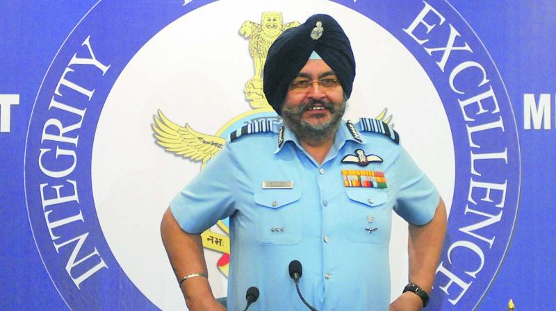 Air Chief Marshal BS Dhanoa (Photo: GM Jha)