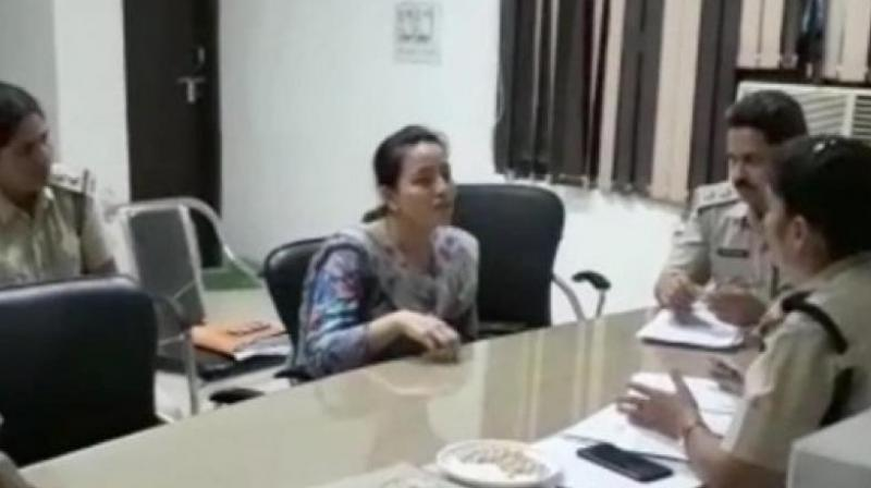 The officer said that Honeypreet, who is currently in police custody, was not cooperating in the investigations. (Photo: PTI)