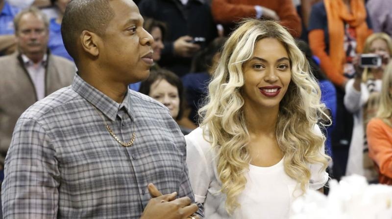 Jay-Z and Beyonce. (Photo: AP)