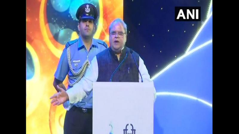 'Not a single casualty has taken place in Kashmir since Article 370 has been abrogated. Police have not fired even a single bullet since August 5,' he said. (Photo: ANI)