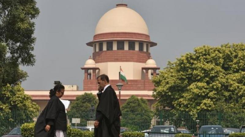 A staffer of the Supreme Court tested positive for coronavirus. (PTI Photo)