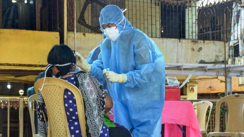 The number of active COVID-19 cases stood at 21,632, while 6,868 people have recovered and one patient has migrated. (PTI Photo)