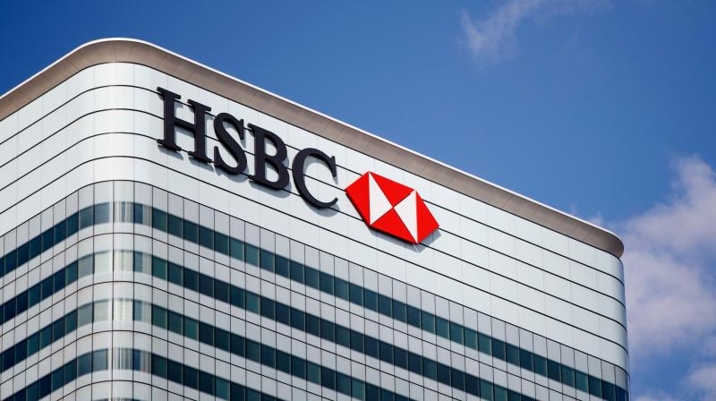 HSBC Q1 pre-tax profits plunge 48% to $3.2bn. (AFP Photo)