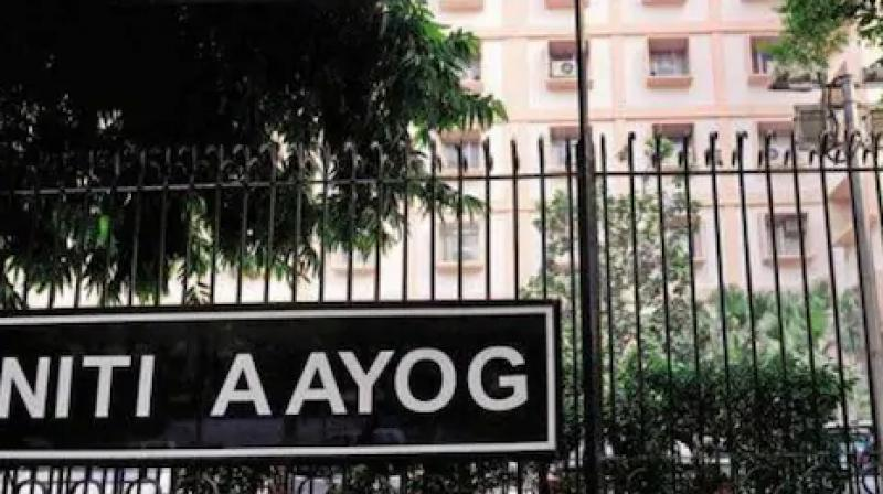 NITI Aayog building in the National Capital has been sealed for 48 hours, after a director level officer tested positive for coronavirus. (PTI Photo)