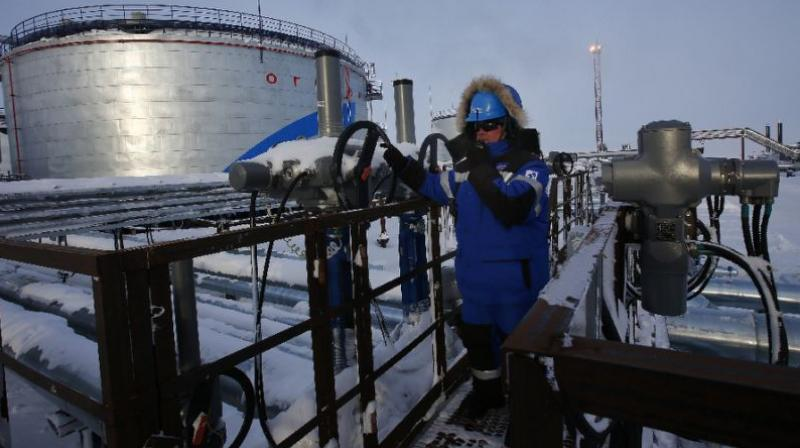 Oil up as US crude stocks due to fall short of estimate