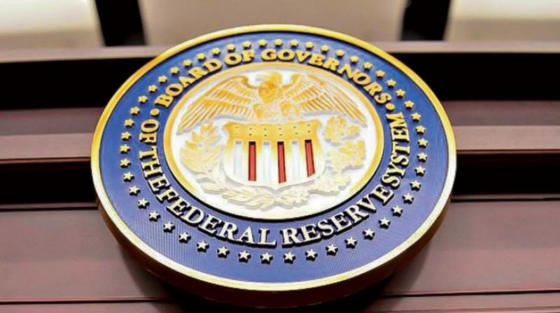 Federal Reserve signalled Wednesday that it will keep its key short-term interest rate near zero. (Photo- AFP)