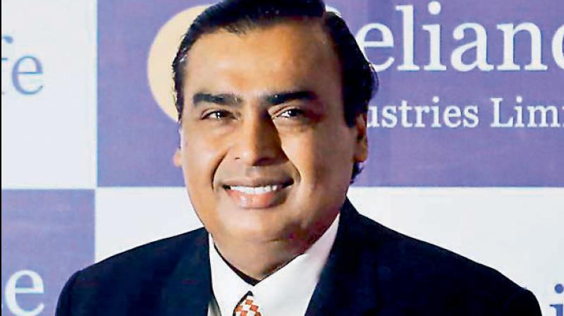 Mukesh Ambani , Chairman, Reliance Industries. (PTI Photo)