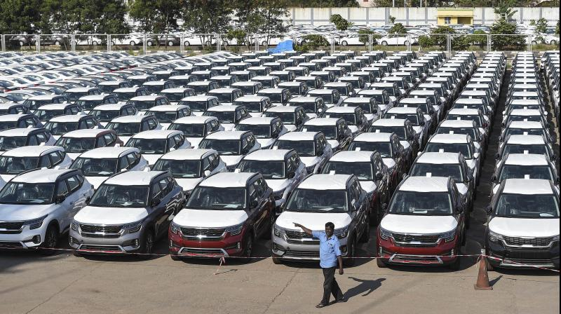 Delhi: The government of Thursday sought suggestions on methods of resource mobilisation from captains of the automobile industry. (PTI Photo)