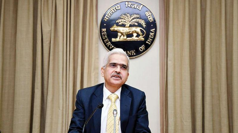 Reserve Bank of India Governor Shaktikanta Das. (PTI Photo)