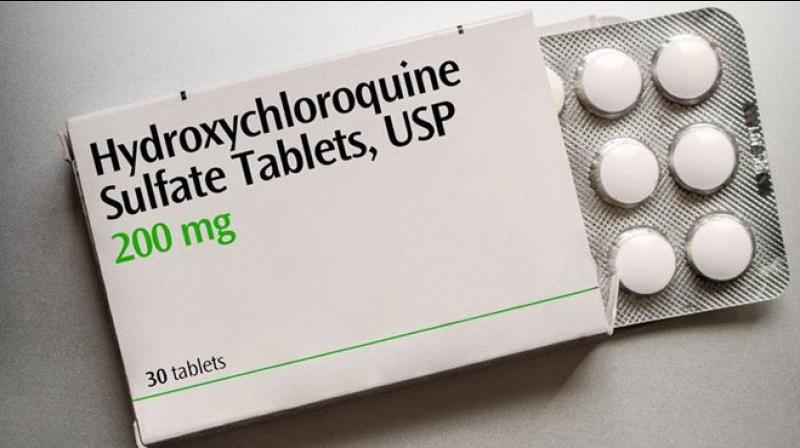Hydroxychloroquine drug (HCQ). (Photo- Twitter)