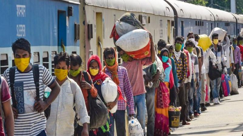 Only those authorised by states allowed in special trains during lockdown. (PTI Photo)