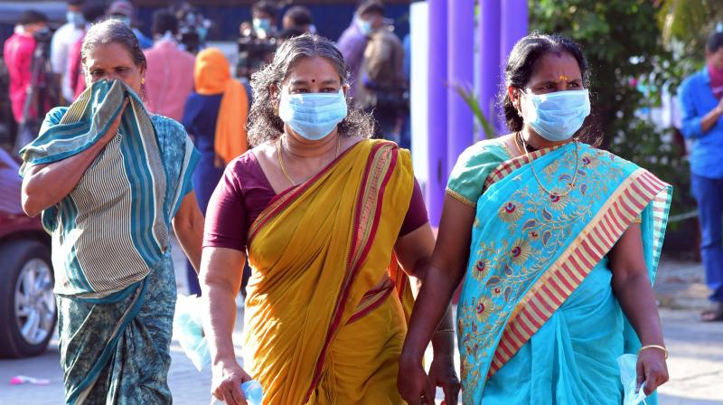 Entry of Keralites returning from other states has been restricted through six border points across the state. (PTI PHOTO)