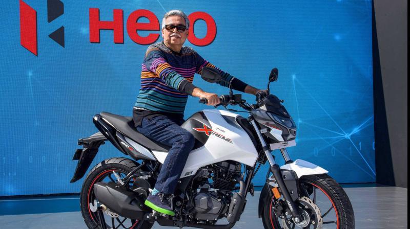 Hero MotoCorp Chairman Pawan Munjal. (PTI Photo)