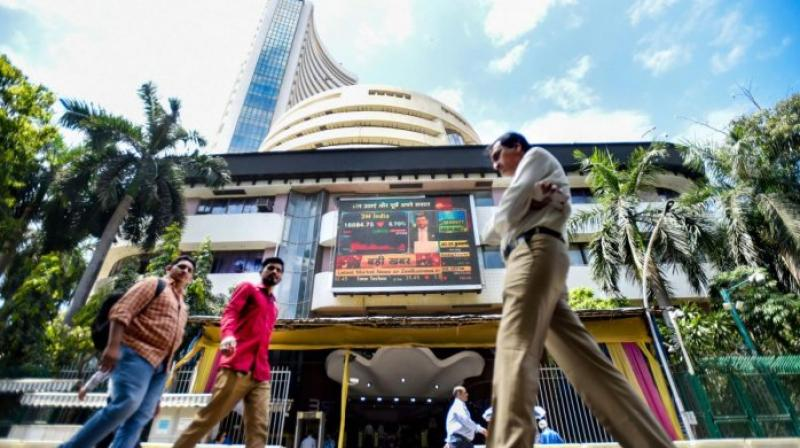 Sensex nosedives over 1,500 point. (PTI Photo)