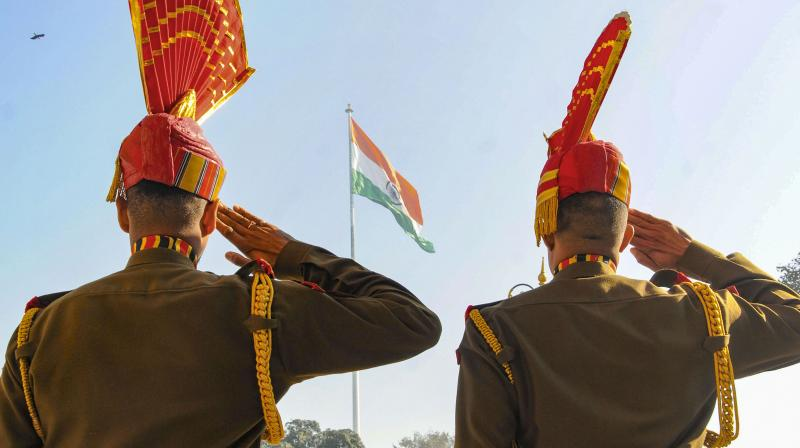 A total of 67 BSF jawans have tested positive for COVID-19. (PTI Photo)