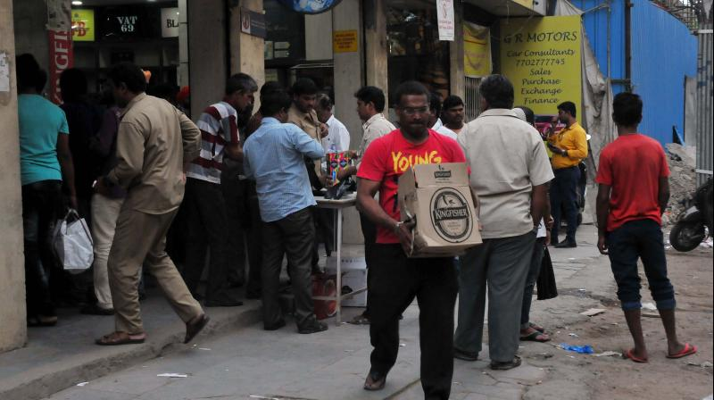 Brihanmumbai Municipal Corporation (BMC) has decided to close down the wine shops in Mumbai again. (DC Photo)