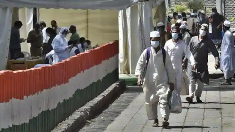 Cases were slapped against several foreigners who flouted visa norms to attend Tablighi Jamaat in Old Delhi. (PTI photo)