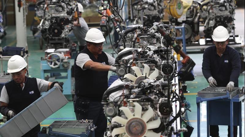 Automobile majors on Wednesday announced the resumption. (PTI Photo)