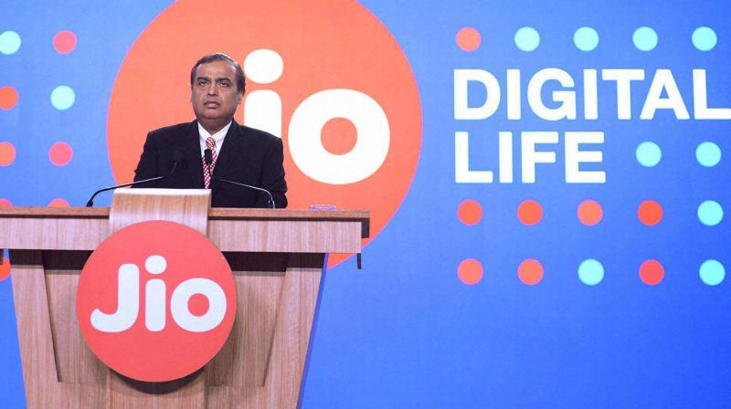 Vista Equity Partners to pick up 2.32% stake in Jio Platforms for Rs 11,367 cr. (PTI Photo)