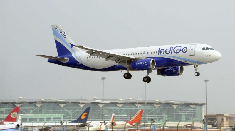 IndiGo reinstates pay cut for senior employees from May. (PTI Photo)