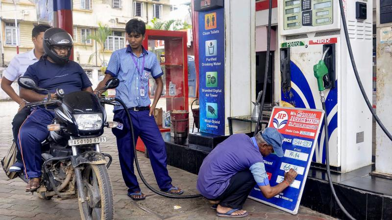India's fuel demand dipped 45.8% in April. (PTI Photo)