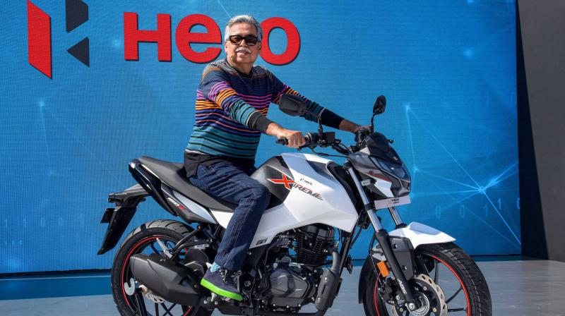 Hero MotoCorp resumes retail operations across 1,500 touch-points. (PTI Photo)