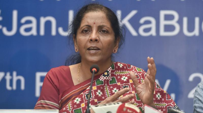 Finance Minister Nirmala Sitharaman. (PTI Photo)