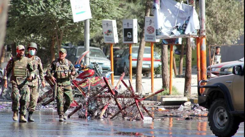 Violence flares in Afghanistan as hospital, funeral attacked. (AFP Photo)