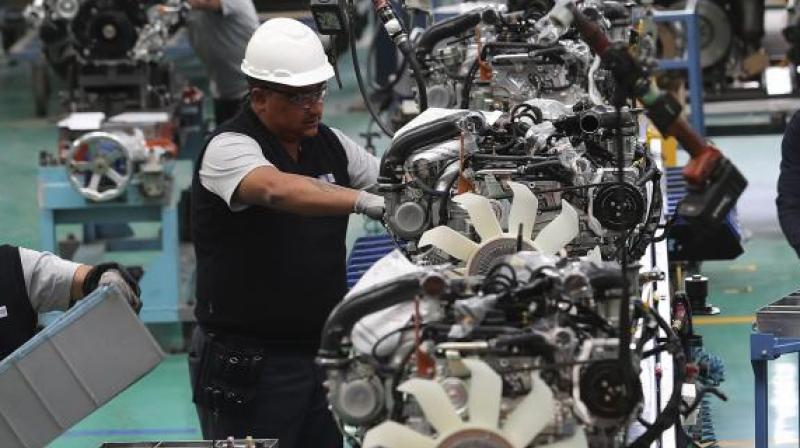 Auto component industry likely to witness double-digit degrowth in FY21. (PTI Photo)
