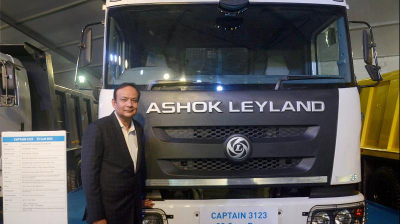 Ashok Leyland resumes production. (PTI Photo)