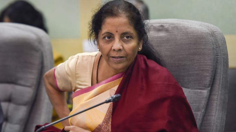 FM Nirmala Sitharaman will address a press conference at 4 PM. (PTI Photo)