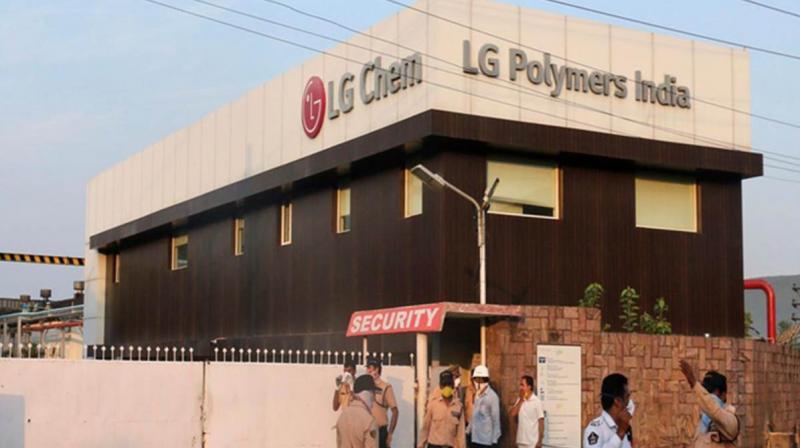 LG Chem begins transportation of Styrene Monomer inventory to South Korea. (PTI Photo)