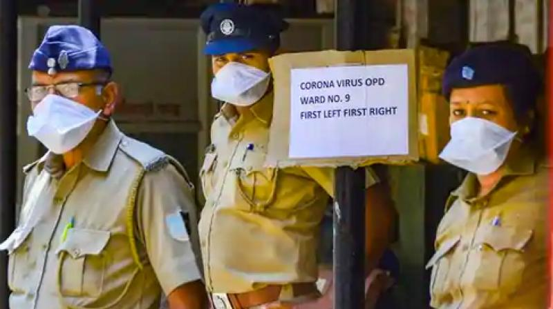 The number of fatalities in Mumbai police force due to coronavirus has increased to eight in Mumbai. (PTI Photo)