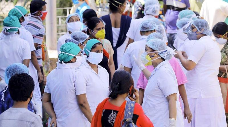 Kolkata hospitals in a spot as nurses quit jobs. (PTI Photo)