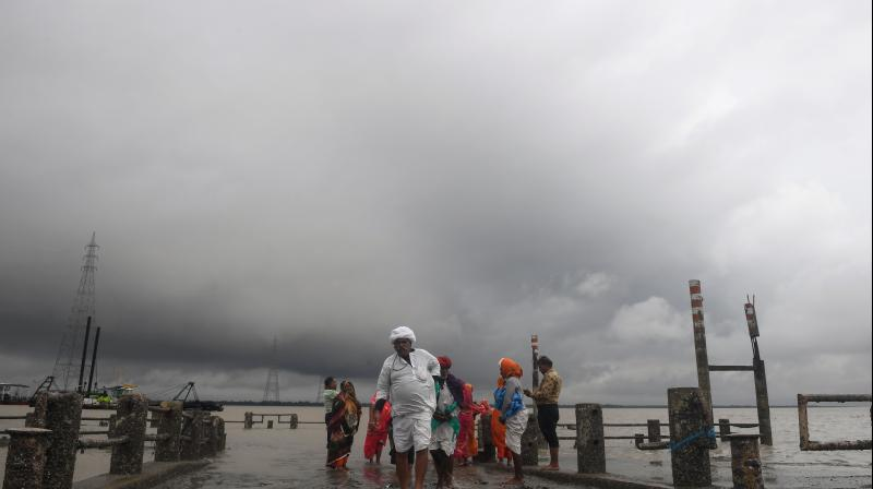 Cyclonic storm 'Amphan' is likely to intensify into a super cyclone by Monday evening. (AFP Photo)