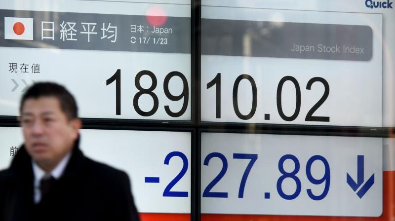 Asian equities rally stalls on lingering economic uncertainty. (AFP Photo)