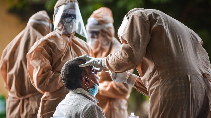 Global coronavirus cases surpass 5 million. (PTI Photo)