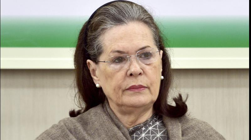 Congress Parliamentary Party chairperson Sonia Gandhi. (PTI)
