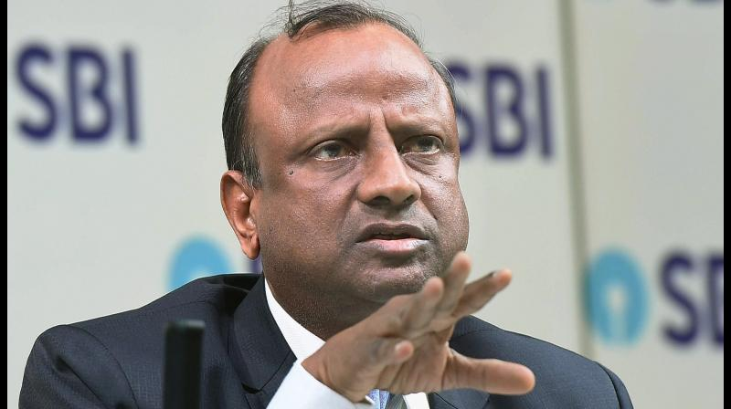 About 20% SBI borrowers avail loan repayment moratorium; banks can go for debt recast says SBI Chairman Rajnish Kumar. (PTI Photo)