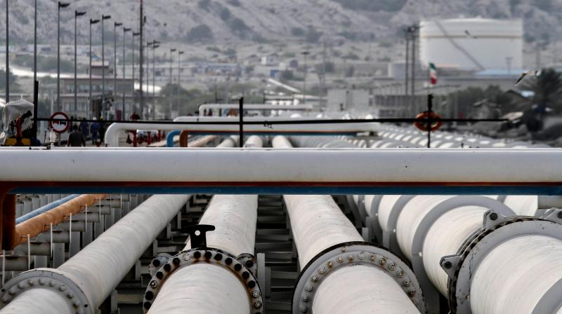 India's crude oil imports fall, product exports surge in April. (AFP Photo)