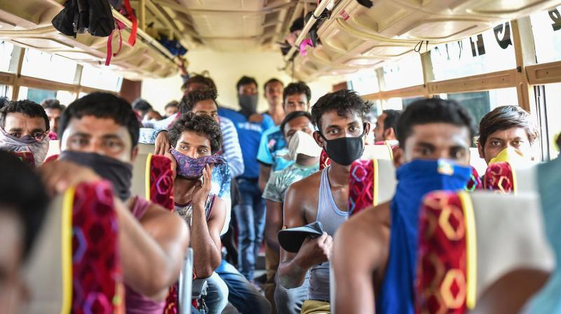 Government had brought back over five lakh migrants, mostly by buses, (PTI Photo)