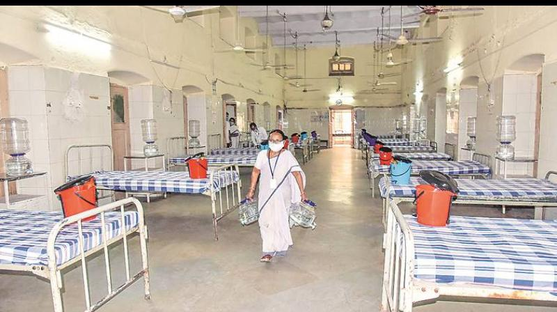 Government has decided to take control of 80 per cent of all private hospital beds in the state till August 31. (PTI Photo)