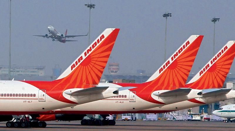 SC allows Air India to fly for ten days with middle seats filled in scheduled aircraft. (PTI Photo)